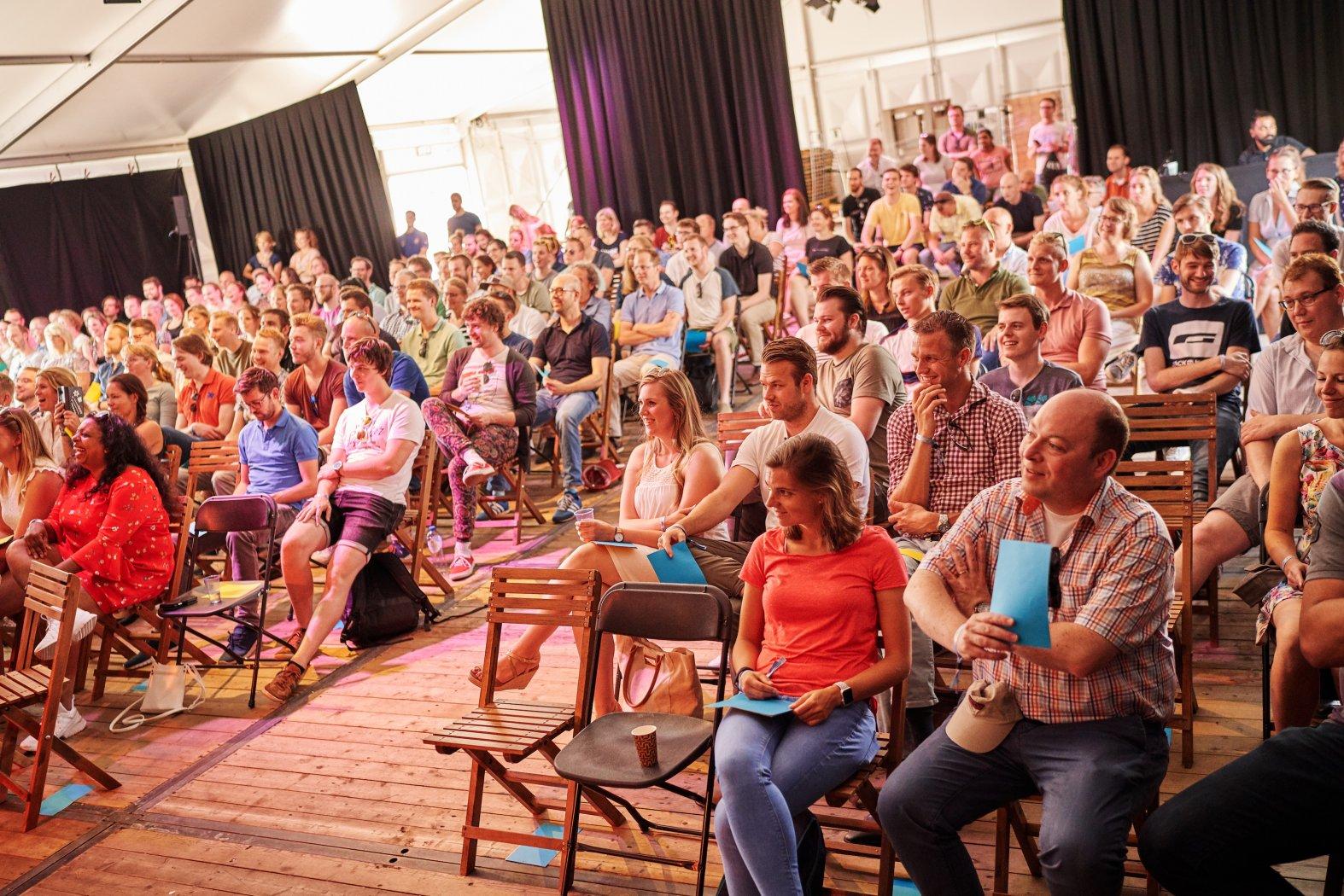 Onze eerste, eigen conferentie TopiConf