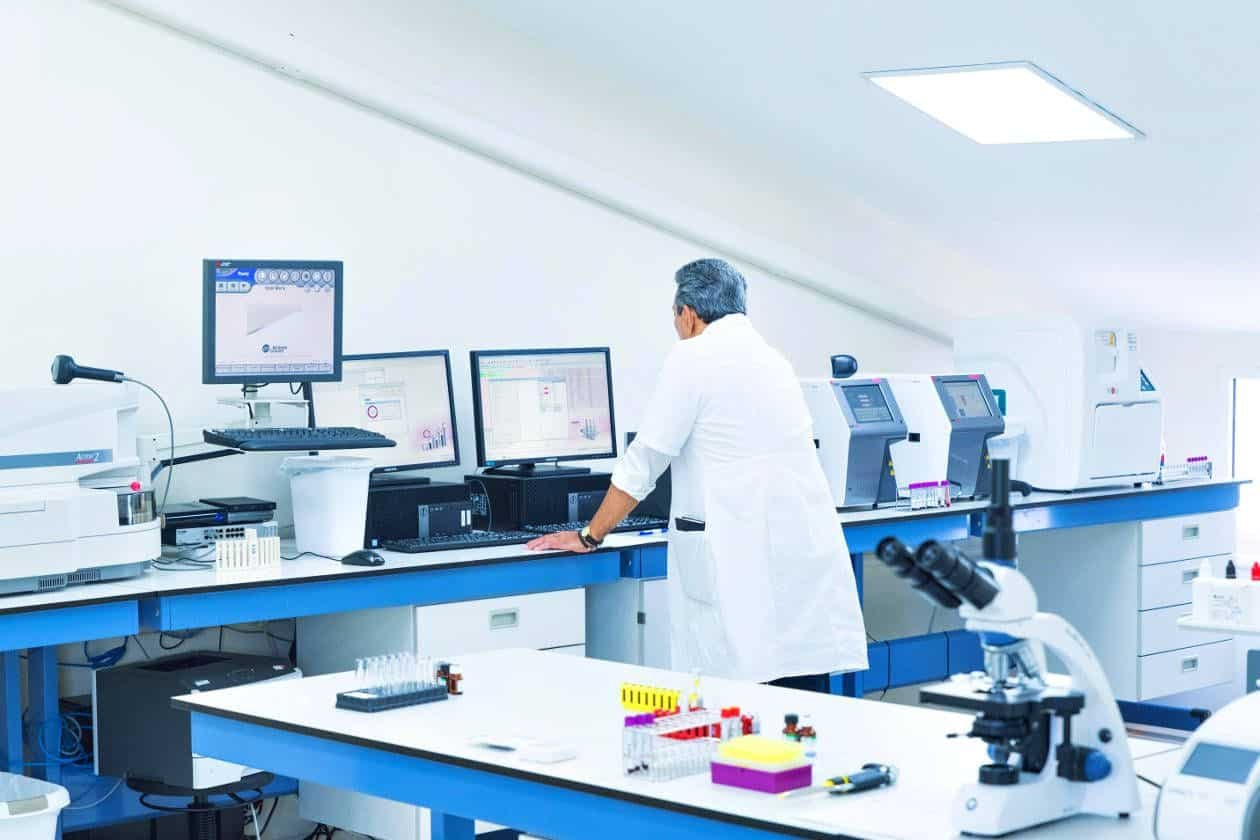 'Transatlantisch lab' spilfunctie testen op COVID19