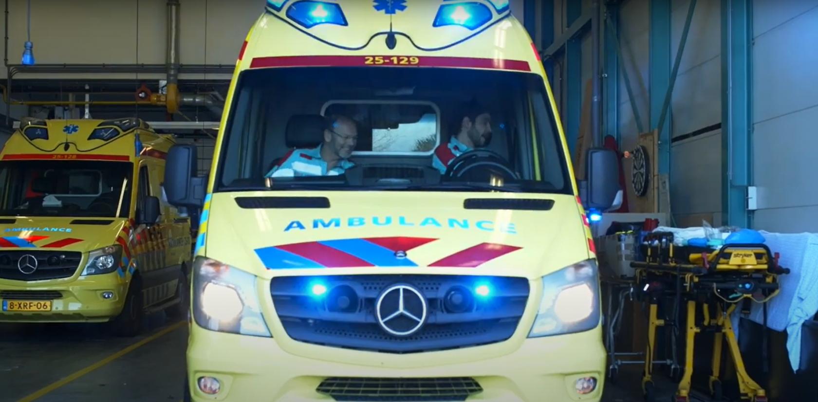 Ook ambulanceregio Zeeland start met VIPLive Gepland Vervoer