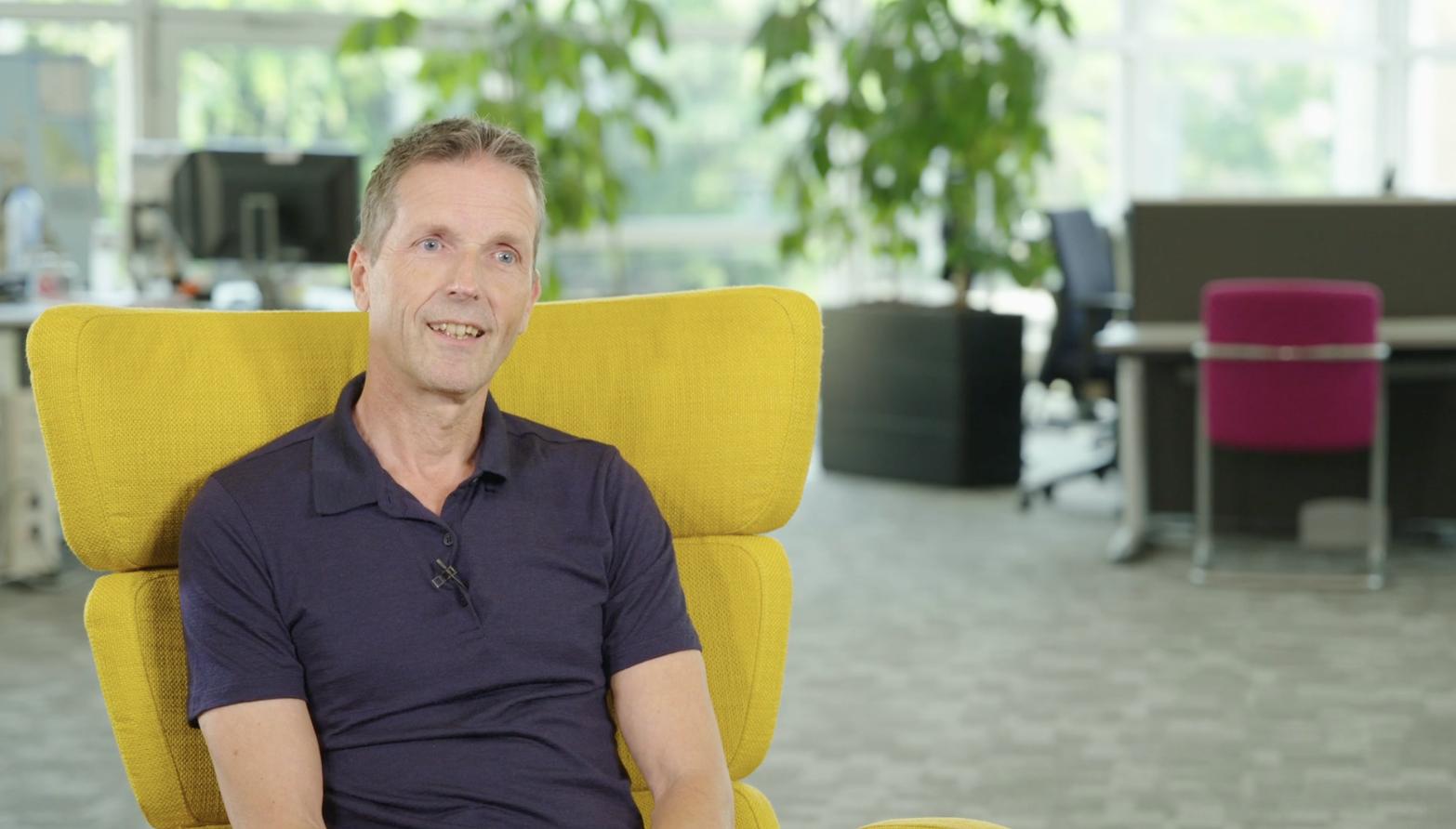 Front- en back-end developer Peter de Wilde